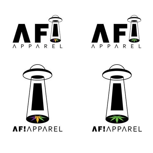 AF! Apparel Logo