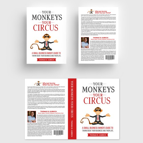 Design an attention grabbing cover for the next best selling business book