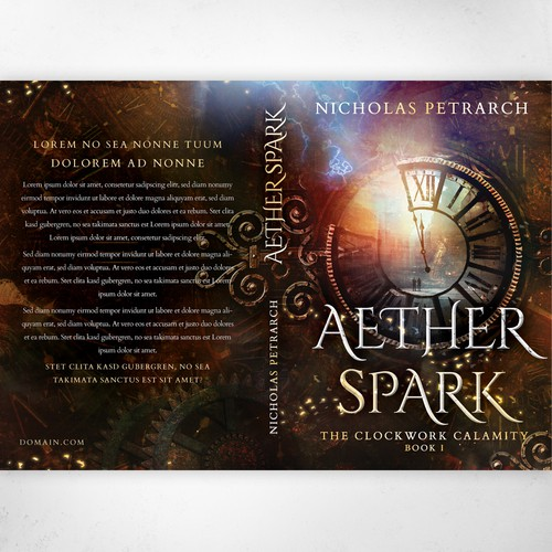 'Aether Spark' by Nicholas Petrarch