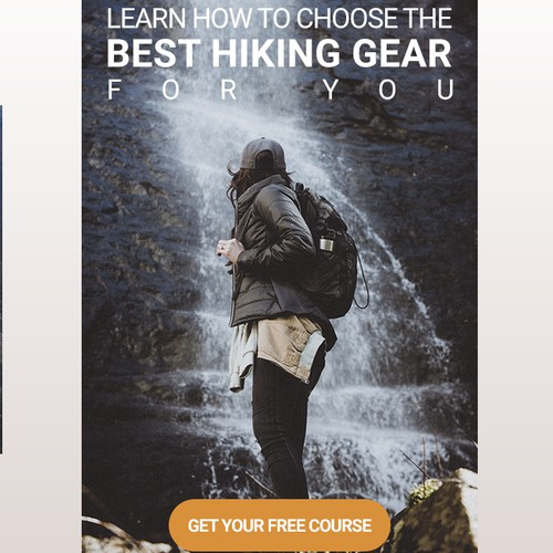 Hiking Gear - Banner Ad