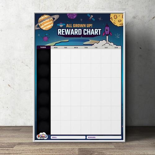 All Grown Up Reward Chart