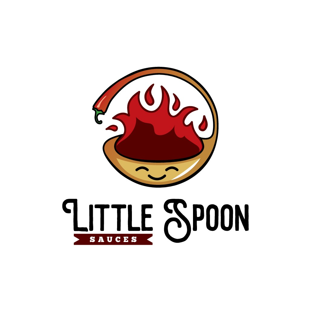 Everyone loves Little Spoon - Need a logo for a hot sauce company that has the perfect amount of heat