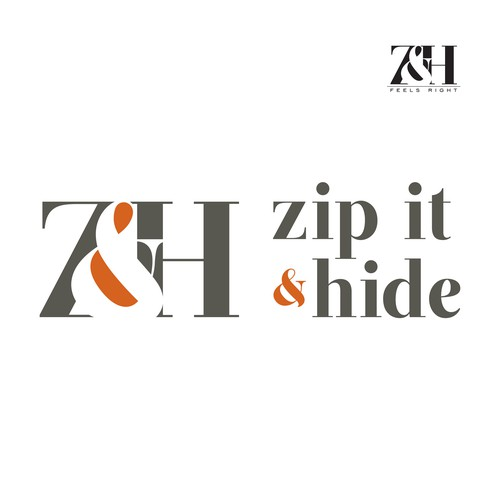 Create the next logo for Zip it & Hide