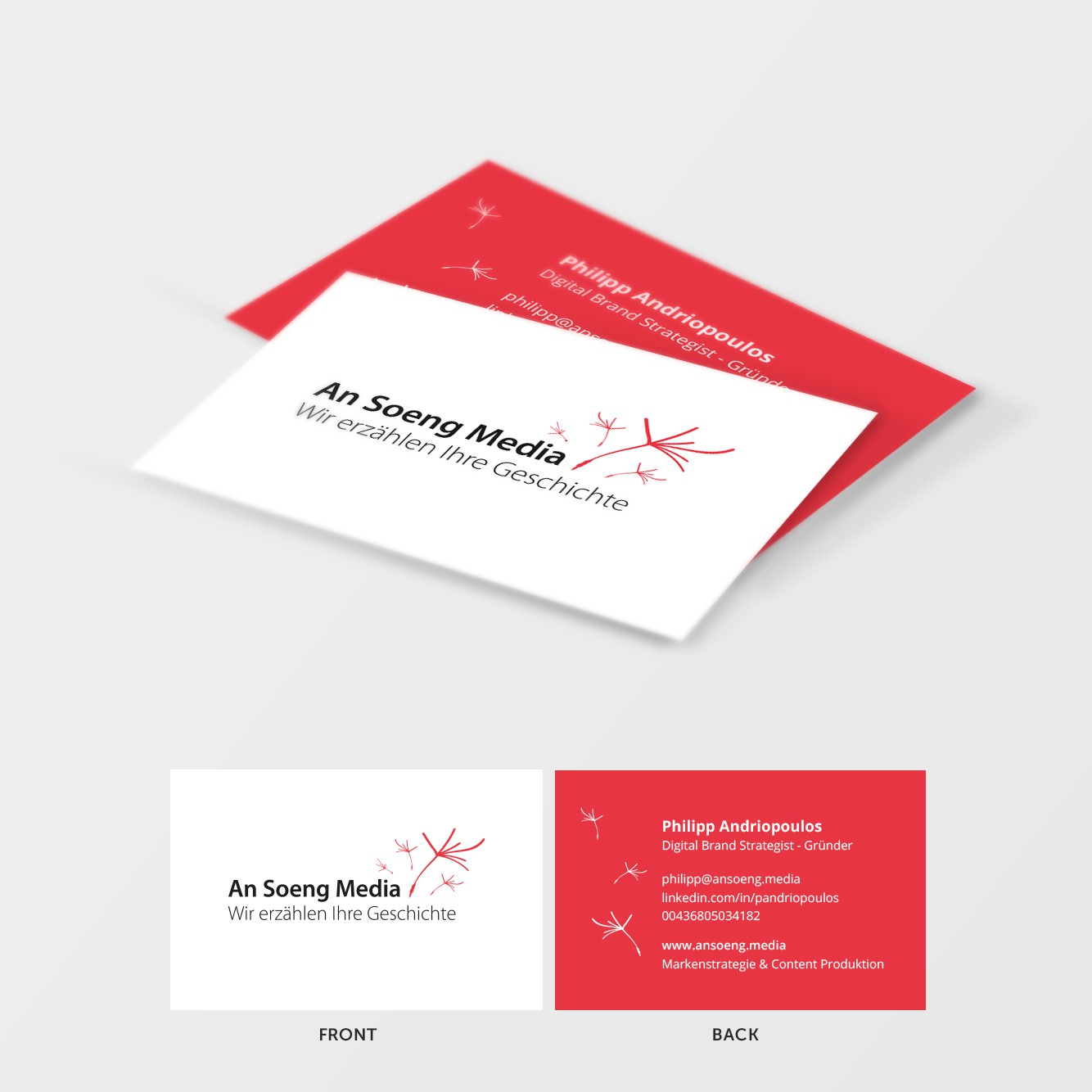 Businesscard Update from Previous Logodesign