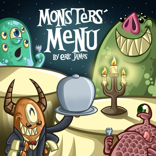 Monsters' Menu children's rhyme (CD cover)