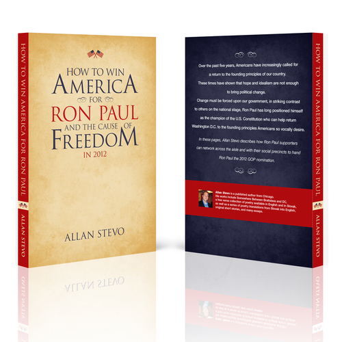 Book Cover for the 2nd Edition of a Book on Ron Paul and US Politics