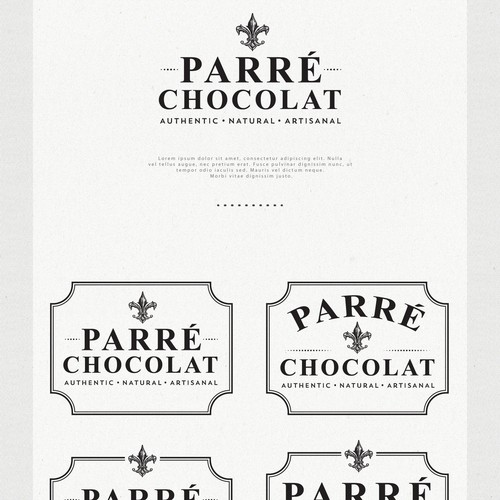 Logo Design for Parré Chocolat