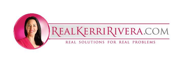 Need a logo for RealKerriRivera.com info/blog site