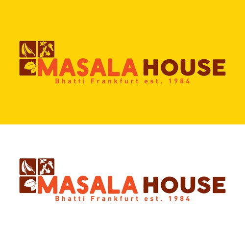 Logo for an Idian grocery Store - Masala House