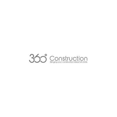 Logo concept for 360 Construction