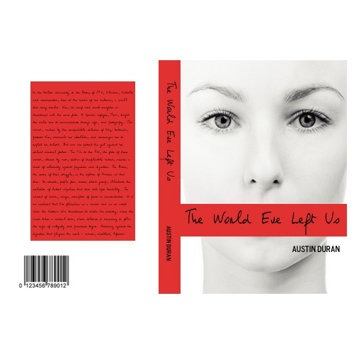 Book Cover Design for The World Eve Left Us