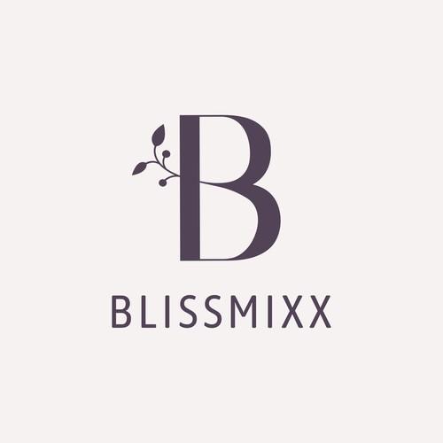 Minimalistic logo for florist