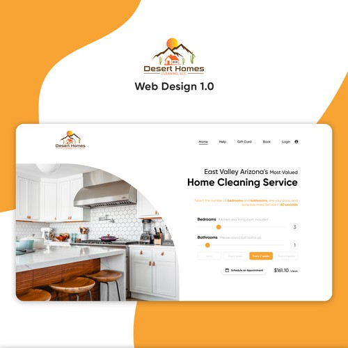 Webdesign for Cleaning Company