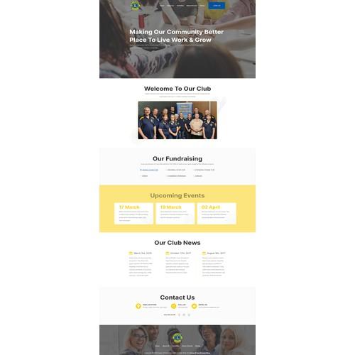 99nonprofits - Non-Profit Website for Upper Coomera Lions Club