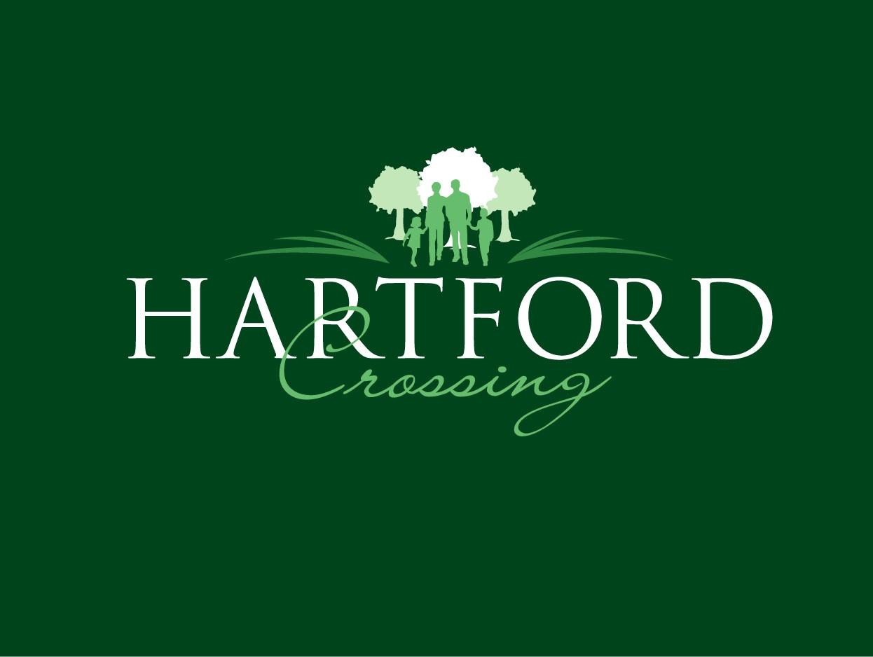 Logos for Hartford Crossing & Hartford Heights