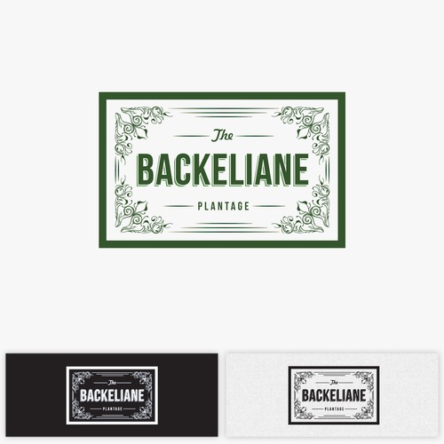 logo for backeliane plantage