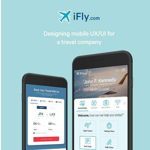 Mobile UI Design & UX Strategy for Travel Booking Company