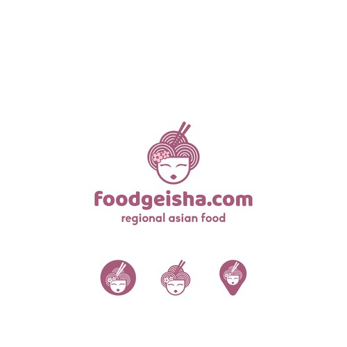 Logotype for the foodgeisha,com