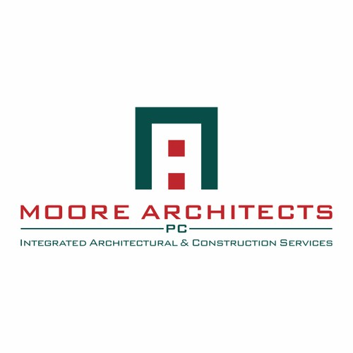 Moore Architects logo design