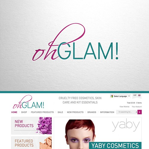 """oh GLAM!"" - Use your creativity to create a glamorous yet playful design"