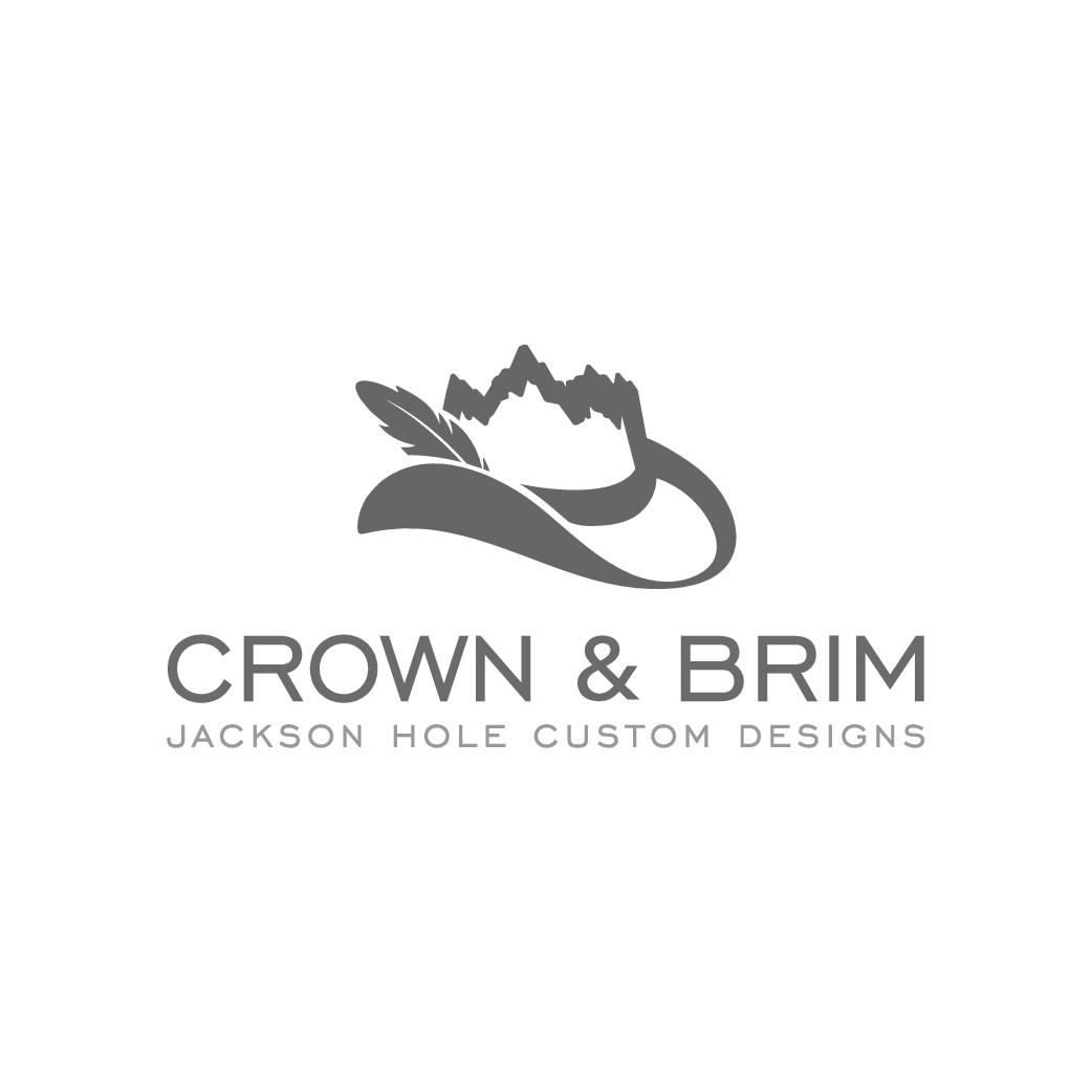 Design a hat shop logo for an urban, western, mountain town brAnd