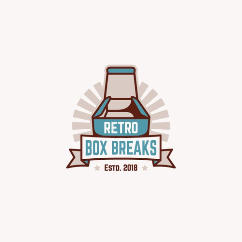 Logo Concept for Retro Box Breaks