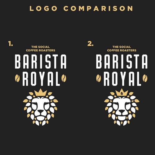 Logo for Barista Royal
