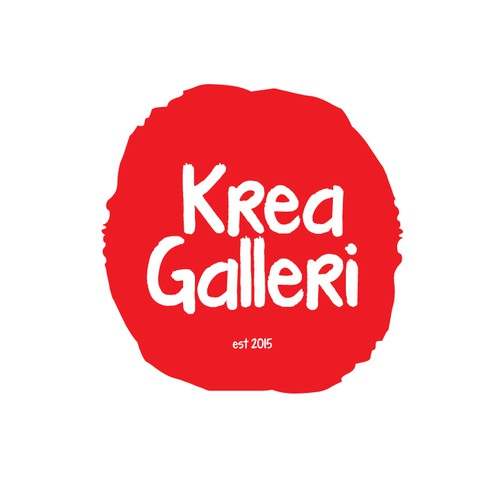 A creative logo for a new gallery