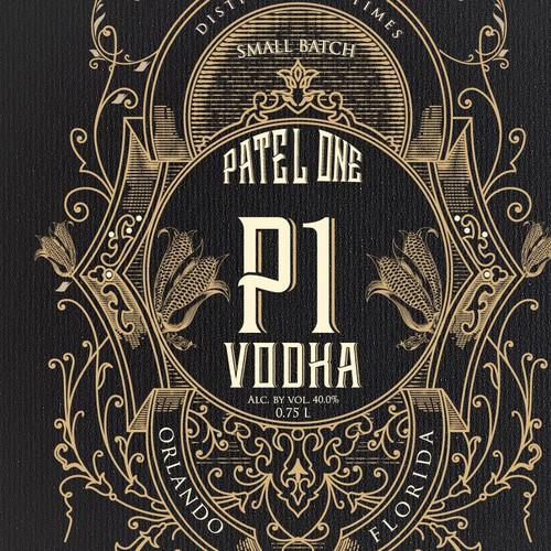 Label for Vodka