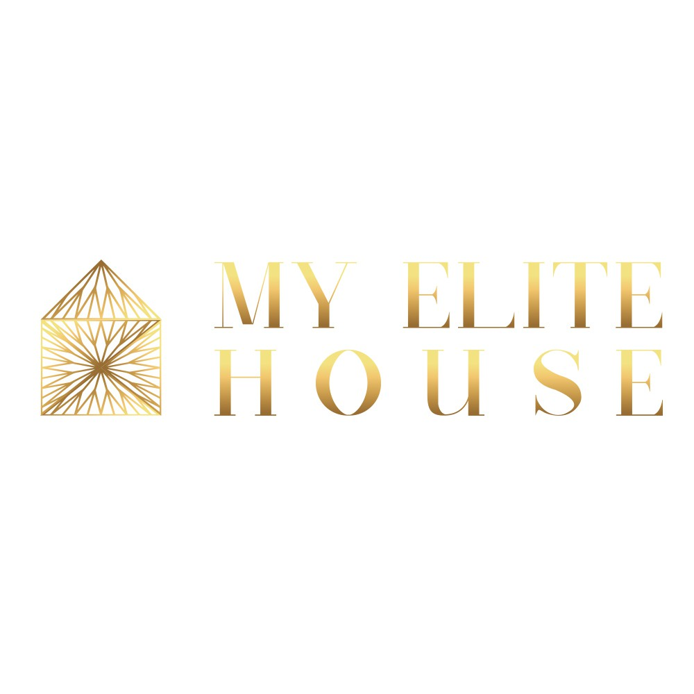 "Sophisticated logo for ""My Elite House""."