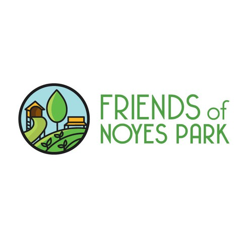 Logo for a DC neighborhood park friends group