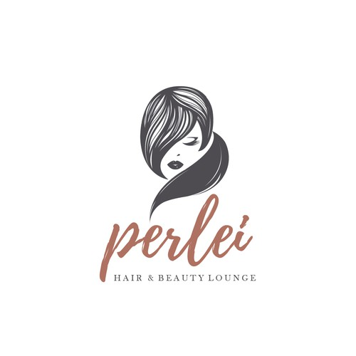 Feminine logo concept for a BeautySalon