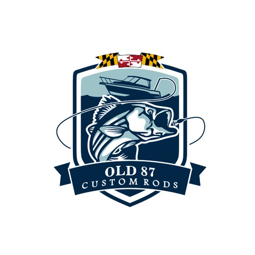 Emblem Logo For Custom Rod Company