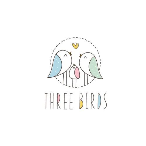 Cute logo for baby apparel