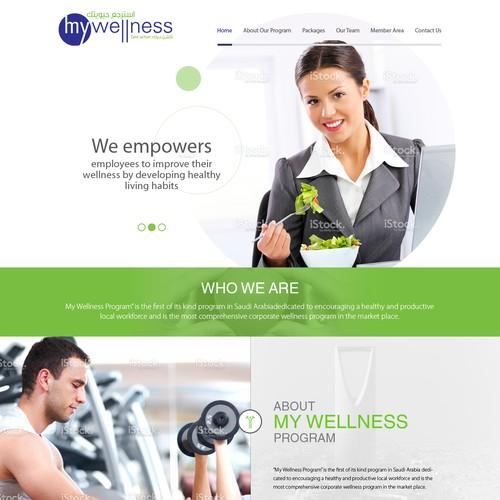 My Wellness - Wellness Website