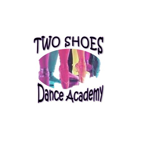 logo for TWO SHOES DANCE ACADEMY