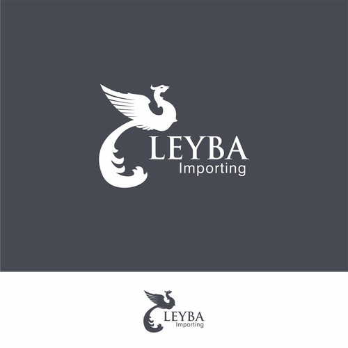 logo concept for Leyba Importing
