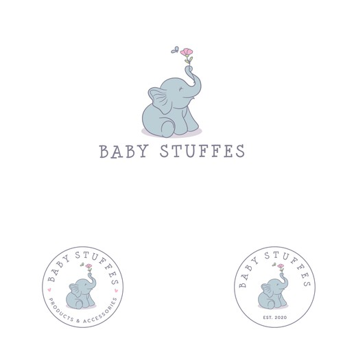 Logo for baby brand