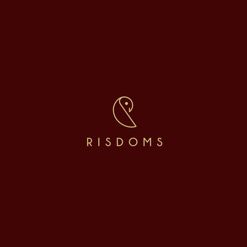 risdom logo design