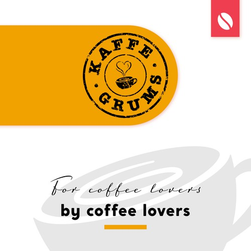 Coffee Blog Logo Design