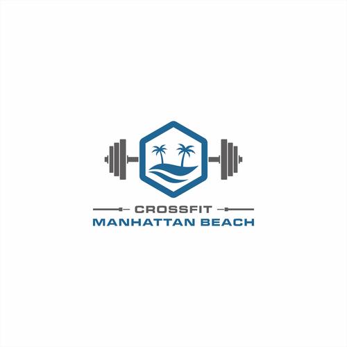 Logo concept for CrossFit Manhattan Beach