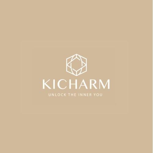 Kicharm brand identity