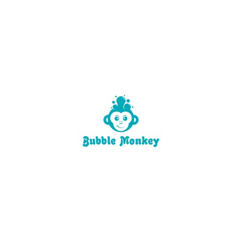 A waffle monkey need his kick ass logo