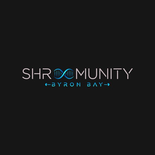 Shrumunity logo design