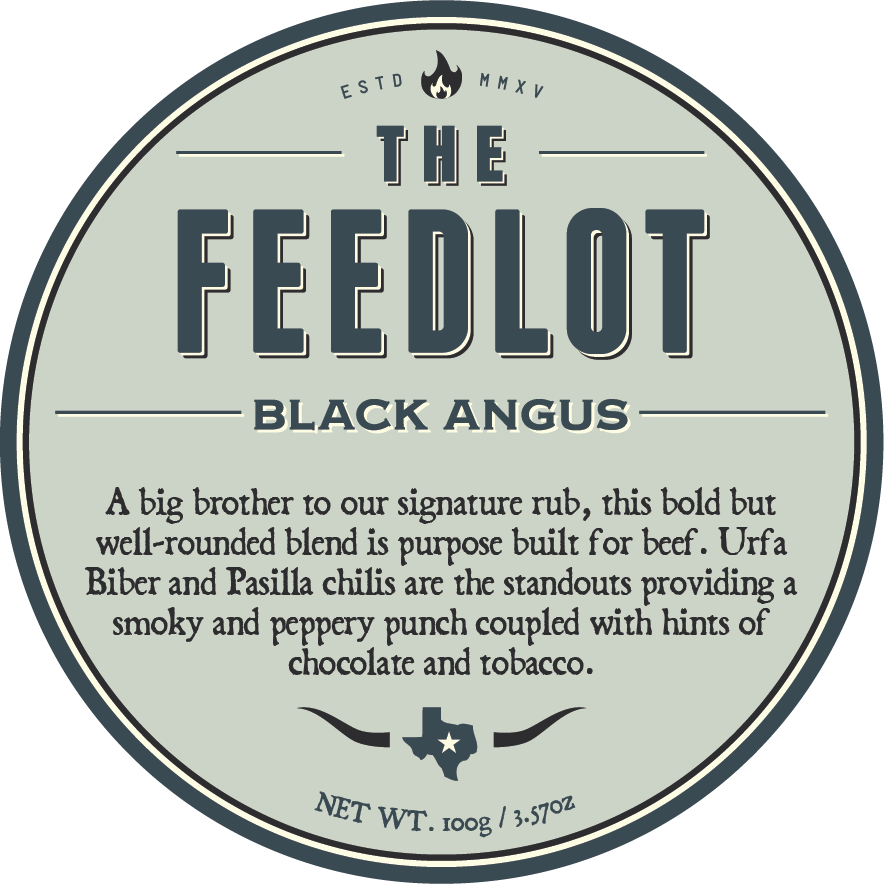 Product packaging design - Black Angus (updated)