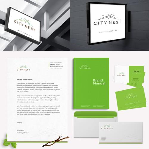 City Nest Brand Identity Design