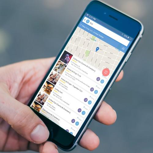 Social media mobile application