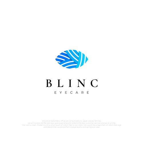 Blinc Eye Care Logo Design