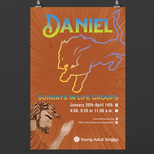 Daniel - Sundays in Life Groups POSTER