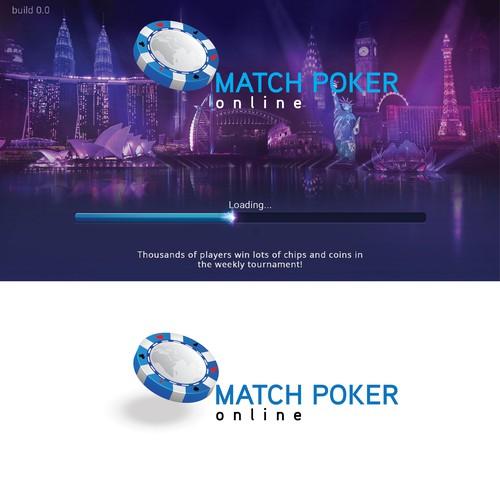 Logo idea for world wide online poker